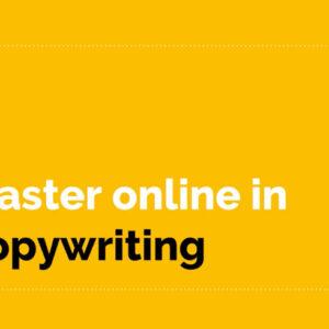 Master in copywriting e scrittura per il web